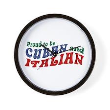 Cuban Italian Wall Clock