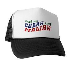 Cuban Italian Trucker Hat