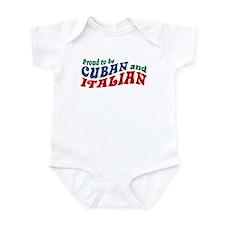 Cuban Italian Onesie