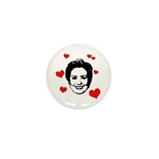 Hearts for Hillary Mini Button (10 pack)