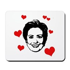 Hearts for Hillary Mousepad