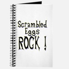 Scrambled Eggs Rock ! Journal