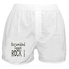 Scrambled Eggs Rock ! Boxer Shorts