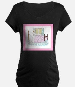 Hush_a_Bye_Baby_Mother_Goose_Ill Maternity T-Shirt