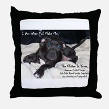 """I Am"" Throw Pillow"