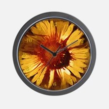 Sunflower Wall Clock