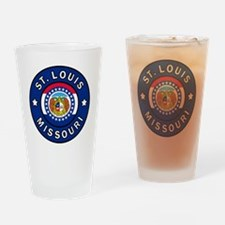 Unique State of jefferson flag Drinking Glass