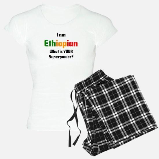 i am ethiopian Pajamas