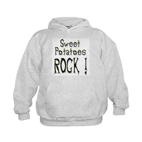 Sweet Potatoes Rock ! Kids Hoodie