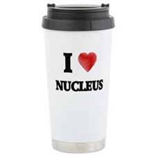 I Love Nucleus Travel Mug