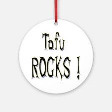 Tofu Rocks ! Ornament (Round)