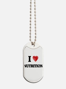 I Love Nutrition Dog Tags