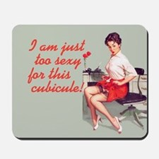 Sexy Office Pin-Up Mouse Pad Mousepad