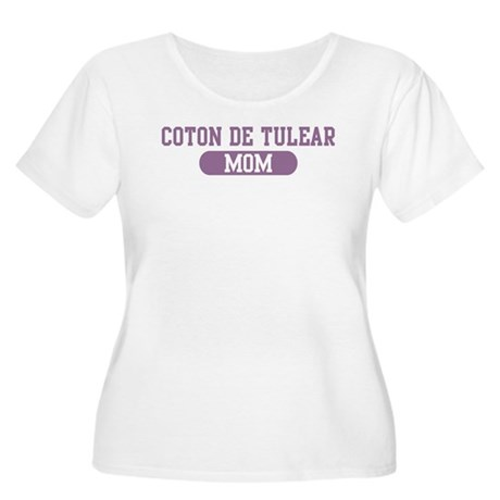 Coton de Tulear Mom Women's Plus Size Scoop Neck T