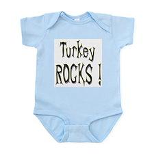 Turkey Rocks ! Infant Bodysuit