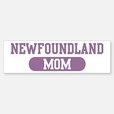 Newfoundland Mom Bumper Bumper Bumper Sticker
