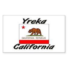Yreka California Rectangle Decal