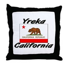 Yreka California Throw Pillow