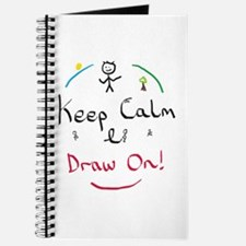 Keep Calm Draw Journal