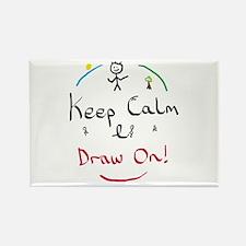 Keep Calm Draw Magnets