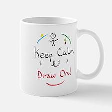 Keep Calm Draw Mugs