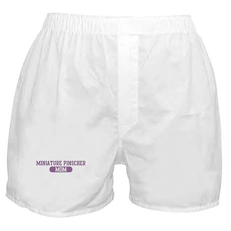 Miniature Pinscher Mom Boxer Shorts
