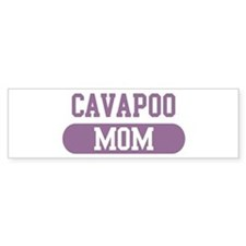 Cavapoo Mom Bumper Car Sticker