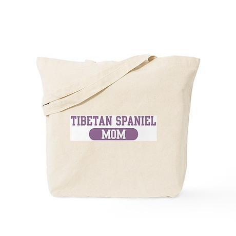 Tibetan Spaniel Mom Tote Bag