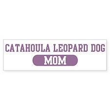 Catahoula Leopard Dog Mom Bumper Bumper Sticker