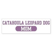 Catahoula Leopard Dog Mom Bumper Car Sticker