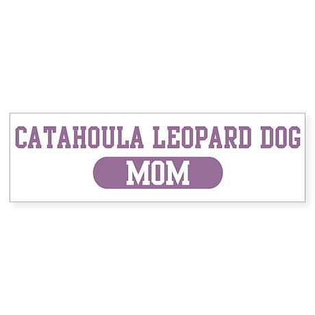 Catahoula Leopard Dog Mom Bumper Sticker