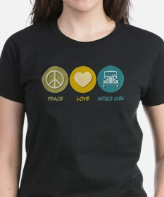 Peace Love Antique Cars T-Shirt