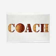 coach (basketball) Rectangle Magnet