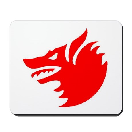 US NAVY VF-1 WOLFPACK Mousepad