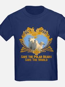 Save The Polar Bears T