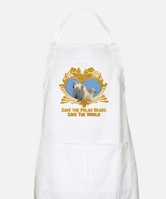 Save The Polar Bears BBQ Apron