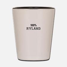 100% RYLAND Shot Glass