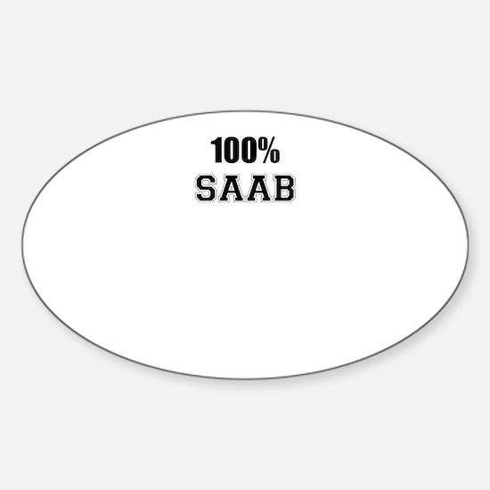 100% SAAB Decal