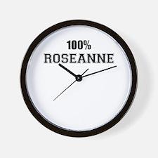 100% ROSEANNE Wall Clock