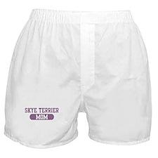 Skye Terrier Mom Boxer Shorts