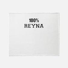 100% REYNA Throw Blanket