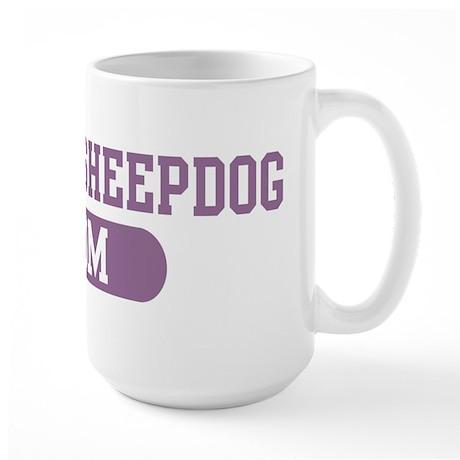 Iceland Sheepdog Mom Large Mug