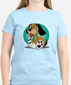 Ovarian Cancer Dog T-Shirt