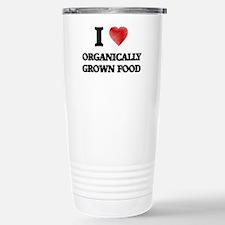 I Love Organically Grow Travel Mug