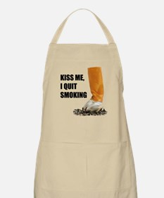 I Quit Smoking Apron