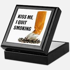 I Quit Smoking Keepsake Box