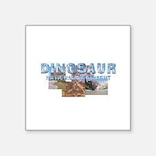 "Abh Dinosaur Nm Square Sticker 3"" X 3"""