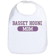 Basset Hound Mom Bib