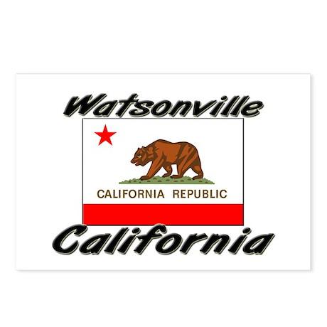 Watsonville California Postcards (Package of 8)