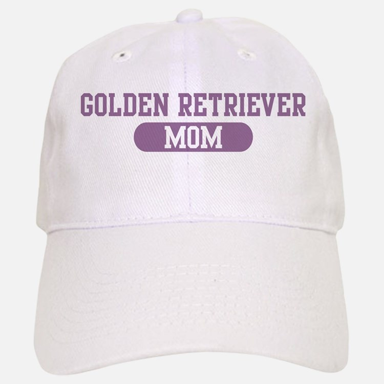 Golden Retriever Mom Baseball Baseball Cap